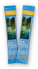 Body Balance Powder packets to Go!